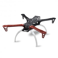 RCT Alien Quadcopter FPV Multi-rotor Aircraft Frame Kit with Landing skid Red /Black Arm