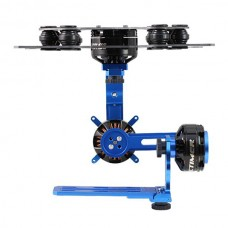 RCtimer 3-Axis Brushless Gimbal Camera Mount Kit w/ Motors for ILDC Camera FPV Photography