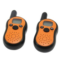 2pcs T2101 Digital LCD Two-way 5KM 8 Channel FM Radio Transceiver Walkie Talkie Portable T-2101