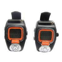 2pcs/Pair Watch Walkie Talkie Free talkie RD-008 22CH 462MHz 0.5W Date Display Time Display Wrist Watch Alarm Clock Kids TOY