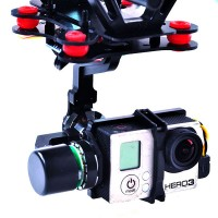 HMG168 2 Axis Gopro Hero3/3+ Brushless Gimbal w/Motor & Gimbal Driver for DJI Phantom 1/2/Vision+ FPV