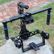 Hifly 3 Axis Handle Brushless Gimbal Red EPIC SCARLET Black Magic BMCC HG-H4S