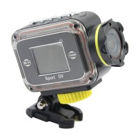 """1080P Sports Camcorder F24B Same Gopro with WIFI Support Loop Recorder Motion Detection Waterproof 1.4"""" Screen Russian Spanish"""