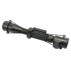 3-9x40E Red Green Illuminated  Rifle Scope Fish Bone Waterproof Fogproof Shockproof for Hunting Gun