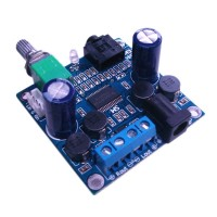 TPA3118 Digital Audio Amplifier 12V High Power with Switches Finshied Board Support Parallel Single Channel