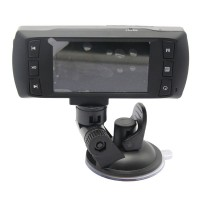 """AT580 2.7"""" TFT Screen All Winner 148 Degree  Wide-angle Dual Lens Vehicle Black Box DVR Camera Video Recorder with IR Night Vision Motion Detection & HDMI Video Output"""