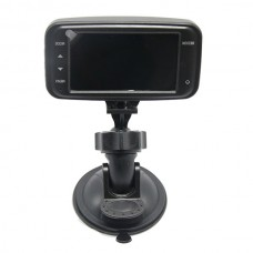 GS8000D 2.7-inch LCD 120 Degree Wide Angle Lens HD 720P Car DVR Recorder with Loop Recording /AV-out /TF Slot (Black)