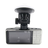 "A766A Car Camcorder Car DVR Vehicle Camera Video Recorder HD 2.7"" inch Screen 170 Wide Angle Lens White"
