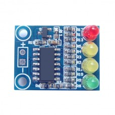 12V Battery 4-phase Power Indicator High-presion 4 Different Lights for Electricity Capacity