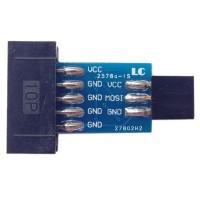 AVRISP USBASP STK500 10PIN to 6PIN Converter Adapter Board 5pcs