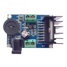 TDA7266 Audio Amplifier Module Double Channel 7W+7W for 4-8Ohm 5-15W Speaker( Blue Black)