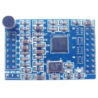 LD3320 ASR the Specific Speech Recognition Module with Microphones with the Source Crystals