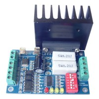 (Arduino-Compatible) TB6560 Stepper Motor Drive / High-power / 16 Segments / 3.5A Current Cooling Fin