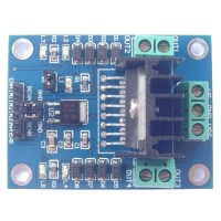 L298 L298N Motor Drive Board Motor Drive Module for Controlling DC Motor Speed and Direction and Stepping Motor