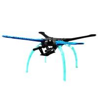 S500 500mm Upgrade Quadcopter FPV Multicopter Frame Kit + Landing Gear w/ 2pcs Carbon Fiber Tube