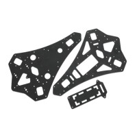 Carbon fiber Center Plate for X-CAM KongCopter Y600 3-Axis FPV Alien Copter