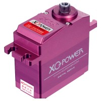 XQ-POWER XQ-S4308D 8KG Torque Force Full Metal Shell Titanium Alloy Gear High Speed Digital Servo