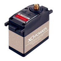 XQ-POWER HV-XQ-5650DHV 60kg Super Large Torque High Pressure Digital Brushless Servo 180 Degree Rotation Angle 60 KG/cm 0.18sec/60Deg Titanium Gear