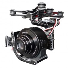 Steadymaker 2 axis Brushless Gimbal Set w/ Motor Controller for FPV DJI Phantom Sony QX10