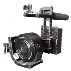 Steadymaker 2 Axis Brushless Handle Stabilizer Gimbal Set w/Motor & Gimbal Controller for Sony QX10