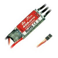 ZTW Spider Series 40A OPTO Brushless Elecronic Speed Control ESC for Multicopter 2-6S Lipo 400Hz