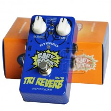 Biyang Baby Boom Effects RV-10 3 Mode Tri Reverb Reverb Stereo True Bypass Electric Guitar Pedal Musical Instrument