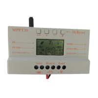 MPPT 30A MPPT 30 Solar Charge Controller 12V 24V Auto Work with LCD Display