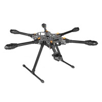 X-CAM Kongcopter FH800 Folding Hexacopter Frame Kit 25mm Tube Aircraft w/ Landing Gear