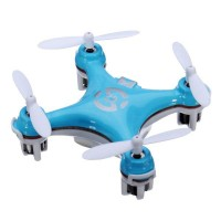 World's Smallest Quadcopter The Pocket Quadcopter 4CH Mini 2.4G 6 Axis Gyro w/ LED Light RC Aircraft
