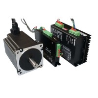 Servo System 86 Two Phases Stepper Motor Stepping Motor Driver Closed Loop Controlling Combo 5A 8.5N/m High Speed