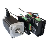 Servo System 86 Two Phases Stepper Motor Stepping Motor Driver Closed Loop Controlling Combo 5A 12N/m High Speed