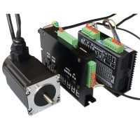 Servo System 57 Two Phases Stepper Motor Stepping Motor Driver Closed Loop Controlling Combo 5A 2N/m High Speed
