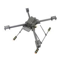 Upgrade GF-400 Carbon Fiber Quadcoptor Multicoptor Multi-rotor w/ T Shape Carbon Fiber Landing Gear Skid