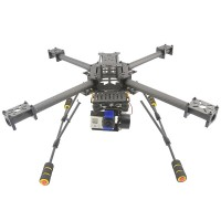 Upgrade GF-400 Carbon Fiber Quadcoptor Multicoptor Multi-rotor (Driving Force Combo)