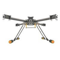 Upgrade GF-400 Carbon Fiber Quadcoptor Multicoptor Multi-rotor w/ Light Weight Landing Skid Gear
