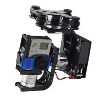 3-Axis Gopro 3 Brushless Gimbal Debugging Version for Gopro Camera Aerial Photography