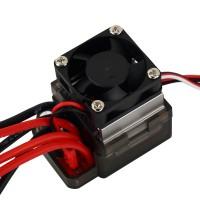 7.2-16V High Voltage 320A Brushed ESC w/Brake & Fan Heat Sink for RC Car Boat