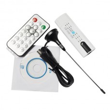 USB 2.0 DVB-T2 HDTV Digital TV Stick Remote Recorder Receiver DVB-C USB DVB-T SDR FM DAB