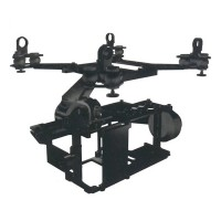 X-CAM A22 2 Axis Gimbal System for SONY NEX7 A6000 BMPCC Brushless PTZ