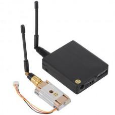 LawMate 1.2GHz 8CH 1000mW Wireless AV Transmitter VTX & Receiver VRX for FPV CCTV Camera
