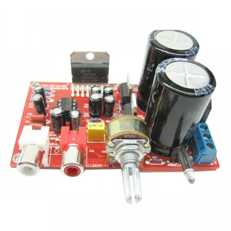 tda7294 mini power amplifier 100w 1 0 subwoofer ne 5532 pre amp diy kit free shipping. Black Bedroom Furniture Sets. Home Design Ideas
