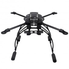 AQ400 Aluminum Alloy ARF Full Folding Quadcopter w/ Flight Control & ESC + Motor