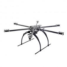 SkyKnight X6-700 Carbon Fiber Hexacopter Aircraft Frame Kit for FPV