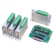 2-Phases Stepper Motor Driver + Breakout Board for MACH3 CNC Engraving Machine