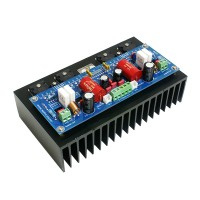 LM4702+2SA1943+2SC5200 Audio Power Amplifier AMP Board 100W+100W