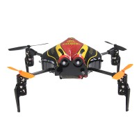 Walkera QR Infra X InfraX-BR Ultrasonic 3 Axis Stabilizing System 4CH UFO Quadcopter w/Devo4 Transmitter Mode 2