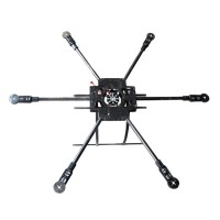 X800-V6 KK MK FF MWC Carbon Fiber Folding Frame Hexacopter Aircraft FPV Multicopter Kit