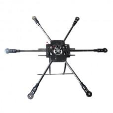 X800-V6 KK MK FF MWC Carbon Fiber Folding Frame Hexacopter Aircraft FPV Multicopter Kit