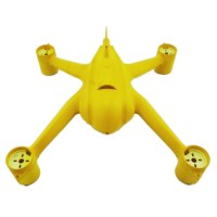 IDEAL FLY Apollo FPV Quadcopter Frame ABS Plastic Airframe 350mm Wheelbase-Yellow