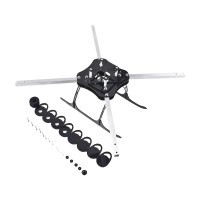 FLYINGROBOT-400 Multi-Copter MultiCopter Folding KIT Nylon plate&metal Support KK MK Flight Controller